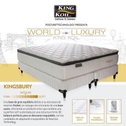 Colchón Y Sommier King Koil Kingsbury 100 x 190