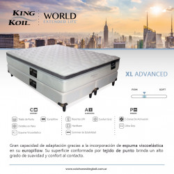 Detalles King Koil Extended Life XL Advanced