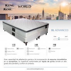 Detalles King Koil Extended Life XL Advanced