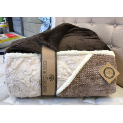 Sherpa estampado twin