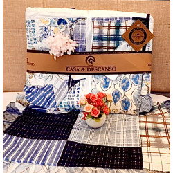 Cubrecama quilt patch twin