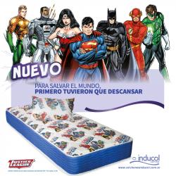 Nuevo Conjunto Justice League Inducol 100  x 190