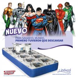 Nuevo Colchón y Sommier Batman Inducol 90 x 190