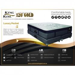 Ficha Colchón King Koil 120 Gold Luxury Pocket