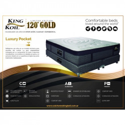 Ficha Colchón King Koil 120 Gold Luxury Pocket