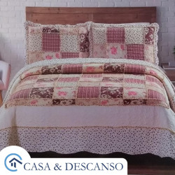 Cubrecama quilt patch king